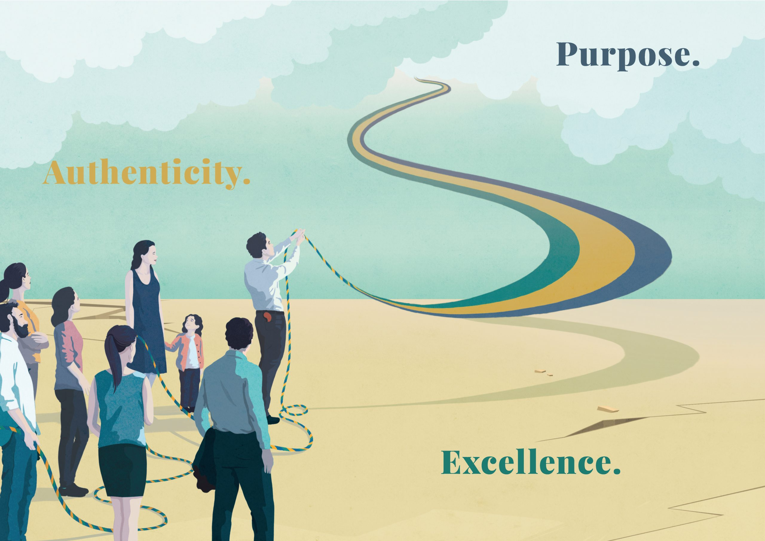 Preludes Authenticity Purpose Excellence